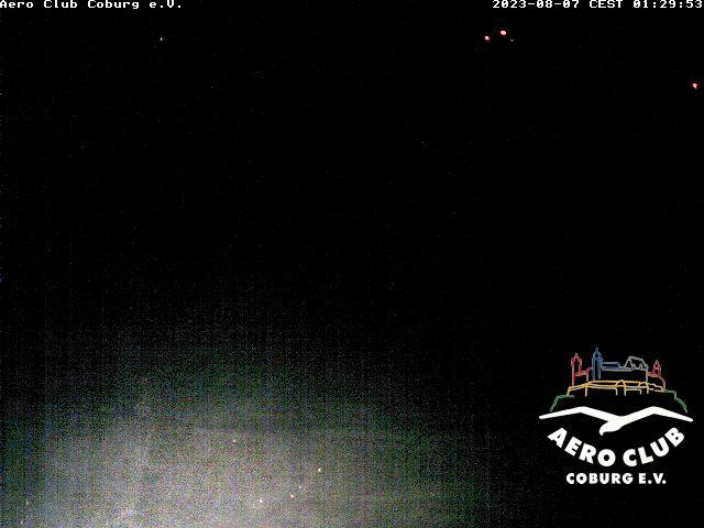Webcam Flugplatz Coburg Brandensteinsebene